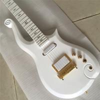 recogida de guitarra caliente al por mayor-Envío gratis caliente vendedor caliente sh pickup wrapwind bridge prince blanco conjunto en el cuello de guitarra eléctrica Guitarra