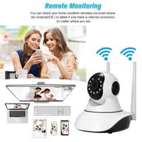 ip wifi sem fio com fio câmera venda por atacado-Câmera de segurança IP sem fio infravermelha Wi-fi sistema de monitoramento de monitoramento de câmera de vigilância em casa P2P função de monitoramento remoto para casa Babay o