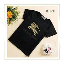 ingrosso camicia unisex modello-Ragazzi Estate Tempo libero Camicia New Pattern Baby Giacca manica corta carino T-shirt per bambini