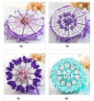 desenhos de caixas de bolo de casamento venda por atacado-2019 mais novo Companion casamento caixa dos doces Cake Design Triângulo Gift Box personalidade criativa caixa do favor Europeia