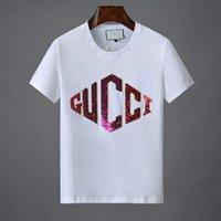 shirts punkte groihandel-2019 luxus Designer T Shirts Männer Frauen Hip Hop T-shirt Kurzen Ärmeln Mode Fünfzackigen Stern Druck Herren Designer T-shirt Größe