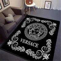 ковры для гостиной оптовых-Новый Богиня Печати Коврик Европейский Стиль Орнамент Ковер 3D Письмо Печати Мода Коврик Гостиная Коврик Для Йоги