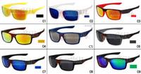 ingrosso marche di biciclette-Gli uomini di marca degli occhiali da sole di vetro della bicicletta di guida che ciclano gli occhiali e le donne degli occhiali di vetro dell'uomo 9Colors A +++ liberano il trasporto