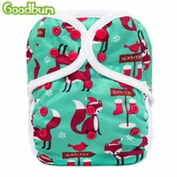 Wholesale pul diapers nappy for sale - Group buy Goodbum New Arrival PC Washable Cloth Diaper Cover Double Gusset Nappy PUL Suit kgs Adjustable Cloth Baby Nappies