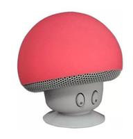 blutooth mp3 al por mayor-Mini Mushroom Speaker Wireless Bluetooth 4.1 Speaker Reproductor de MP3 con micrófono portátil estéreo Blutooth para teléfono móvil 30