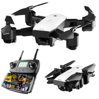 Wholesale quadcopter models resale online - SMRC S20 Mini RC Drone G Axles Gyro GPS With Wide Angle P Camera Altitude Hold RC Model Quadcopter Portable toys