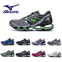 best sneakers f6f81 1b309 original großhandel sportschuhe großhandel-Neue Mizuno Wave Prophecy 7  Herren Designer Laufschuhe Original Mizunos 7s