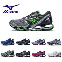 brand new e02b7 d8154 Wholesale drop shipping sport shoes for sale - New Mizuno Wave Prophecy  Mens Designer Running Shoes