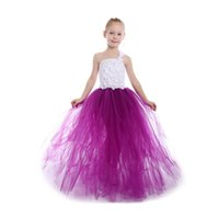 Wholesale birthday party dress child baby photo for sale - Group buy New Flower Girls Dresses for Baby Party First CommunionPrincess Ball Gown Children Images Dress kids Halloween Christmas Dress