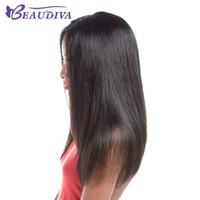 pedaços de cabelo para tecidos venda por atacado-O cabelo humano indiano do Weave 100% do cabelo reto empacota 8-24 de cor natural a traço indiana crua do dobro da máquina do cabelo de 3 partes