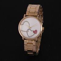 grandes letras de strass venda por atacado-Marca de moda mk Rhinestone Diamante relógios inlay letras grandes Relógio Grande dial Mulher michael Quartz Relógios atacado relógios Americanos