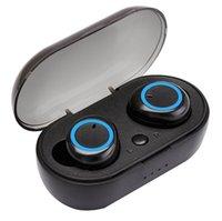 beste ohr drahtlose bluetooth kopfhörer groihandel-Tws best wireless headphones 5.0 kopfhörer ture stereo ohrhörer ohrhörer Wasserdichte In-Ear Bluetooth-Ohrhörer für Smartphones