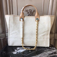 Wholesale large designer beach bags for sale - Group buy High end customized quality handbag designer beach bag travel holiday shopping essential large capacity handbag with iphone plus insert bag