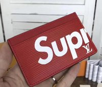 Wholesale heart clutch wallet resale online - designer card holders wallets mens womens luxury handbags purses wallets wallet purse designer card holder genuine leather drop shipping