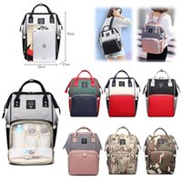 Wholesale mother maternity clothes for sale - Group buy Mommy Backpacks Baby Nappies Bags Mother Maternity Diaper Backpack Large Volume Outdoor Travel Bags Baby clothes Organizer Diaper bags