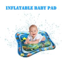 Wholesale infant cushion mat for sale - Group buy Hot Selling Baby Kids water play mat cushion Inflatable Infant Tummy Time Play mat Toddler for Baby Fun Activity Center