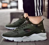 ingrosso scarpe huarache aria 46-2019 nuove scarpe Air Huarache ultra casual per uomo donna, donna Uomo nero bianco Air Huaraches Huraches sneakers atletiche scarpe da ginnastica EUR 36-46