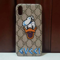 Wholesale snake skin phone case online – custom Snake Embroidery Smartphone Designer phone case Case for IPhone X Plus Fashion Back Skin Shell Cover for IPhoneX XS Max XR A96