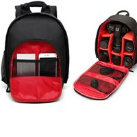 Wholesale multi camera bags resale online - Coloful Waterproof Multi functional Digital DSLR Camera Video Bag Small DSLR Camera Backpack for Photographer