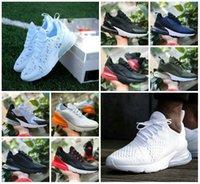 nefes alabilen örgü ayakkabılar erkekler toptan satış-Yüksek Kaliteli 2019 Yeni DOĞRU Beyaz Volt Üçlü Beyaz Siyah Teal Moda Ucuz Kadınlar Erkekler Hava Eğitmenler Nefes Mesh Sneakers Ayakkabı Koşu BE