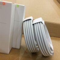 cabo original do iphone da maçã venda por atacado-100pcs 6 gerações A ++++ Original OEM Qualidade 1m 3 pés USB Data Sync Charger cabo com pacote de varejo