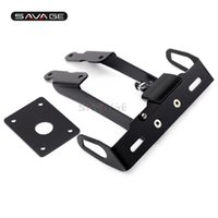 Wholesale license plate holder kawasaki for sale - Group buy License Plate Holder LED Light For KAWASAKI Z650 NINJA Motorcycle Accessories Tail Tidy Fender Eliminator CNC
