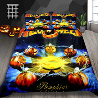 Wholesale 3d pillowcase resale online - Magic Array Print Bedding Set Hallloween Gifts Mysterious D Duvet Cover King Soft Queen Double Single Full Twin Bed Cover with Pillowcase