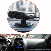 Wholesale 12v auto fans resale online - 12V V SJ Portable W W Car Heater Heating Defroster with Swing out Handle Driving Enthusiasts Car Styling Demisterr Auto Heat Fan