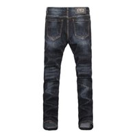 Wholesale stylish coats for winter for sale - 2019 Autumn And Winter Trousers Stylish Personality Men s Jeans Smooth And Comfortable Jeans For Men