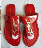 siyah yılan derisi el feneri kapağı toptan satış-666 lüks 2019 yaz kadın terlik marka sandalet tasarımcı ayakkabı kayma yaz moda pürüzsüz geniş kalın 35-42 sandalet, terlik