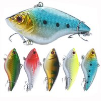 Wholesale sinking vib lures for sale - Hard Wobblers cm g Plastic VIB Fishing Lures Artificial Bait Treble Hooks Long Shot Sinking Crankbait Tackle