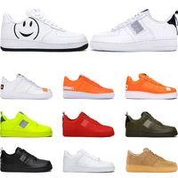 Wholesale skateboard woman resale online - 2019 men women fashion platform sneakers utility black white triple volt red olive have a day Flax mens casual skateboard shoes size