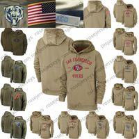 titan sweatshirt toptan satış-Tan Kazak Salute Hizmetleri Kazak Hoodie San Francisco Seattle 49er Seahawks Tennessee Washington Titans Redskin Erkekler Kadınlar Gençlik