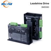 leadshine cnc venda por atacado-Will Fan Leadshine 3DM580 Stepper Motor Drive 2 unidades / lote Nema 23 DC36V Para CNC Kit Co2 Laser Cortador de máquina de gravura