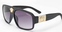 kadın için kaliteli gözlük çerçeveleri toptan satış-2019 En Kaliteli Moda Güneş Kadınlar Gözlük Vintage Erkekler Altın Çerçeve Polarize Adam Güneş Gözlüğü Kadın Womens için Sunglass Womens