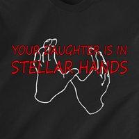 bakire seks gemi toptan satış-SIZIN KIZICI STELLAR EL ILE bakire seks tarihi yaramaz retro Komik T-Shirt Erkek Kadın Unisex Moda tshirt Ücretsiz Kargo siyah