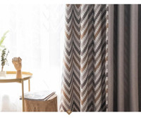 Wholesale 90 inch curtains for sale - Group buy coffee curtain finished simple and sunshading cotton and linen stitching shade cloth insulation bedroom living roomall rooms