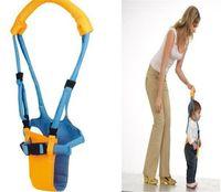 bebek yürümeye başlayan kemeri toptan satış-Yürüyor Bebek Güvenliği Öğrenme Yürüyüş Kemer Kayışı Rahat Koşum Yardımcısı Walker Kaleci Opp Çanta ile Bebek Öğrenme Yürüteç Kanatları
