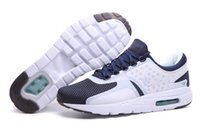 moda de jade blanco al por mayor-Nueva moda Zero QS Malla transpirable zapatos de diseño Edición limitada Día Blanco Rift Azul Hyper Jade Medianoche Azul marino Zapatillas de moda con caja