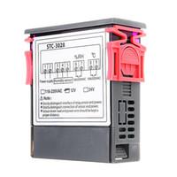 Wholesale 24v 12v dc regulator for sale - Group buy STC V V DC A Digital Temperature Humidity Meter Thermostat LCD Display Thermoregulator Hygrometer Adjustable Heater Regulator