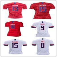 uniformes de futebol eua venda por atacado-Gold Cup 2019 America Casa longe EUA Soccer Jersey 2019 Copa América Estados Unidos da camisa do futebol EUA homens de Futebol camisa do uniforme