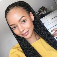 ingrosso colore corto auburn dei capelli-Tre intrecciato parrucche Dreadlocks sporco parrucca parrucche sintetiche della parte anteriore della parrucca ManufacturersEurope Africa commerciale di vendita di moda