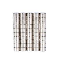 güçlü kalıcı mıknatıslar toptan satış-Güçlü mıknatıs Hakkin 50 adet 8x5mm Güçlü Yuvarlak Silindir Mıknatıslar Nadir Toprak Neodimyum N52 Kalıcı Güçlü Mıknatıs