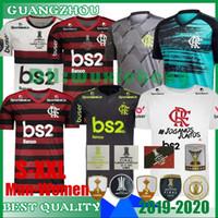 jerseys esportivos futebol venda por atacado-2019 2020 flamengo Man e Jersey Feminino 19 20 Flamengo GABRIEL B. DIEGO VINICIUS JR Futebol esportes Brasil de futebol camisas tamanho S-XXL