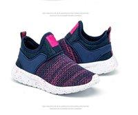 boş zaman bebek ayakkabıları toptan satış-2019 Çocuk Çocuk gündelik nefes Boş Koşu erkek bebek ayakkabıları Atletik Açık Moda Kız çocuk ayakkabıları sneakers