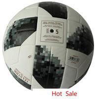premier league de fútbol al por mayor-Balón de fútbol de la Copa Mundial de fútbol de alta calidad Premier oficial de fútbol Balón de fútbol Liga de fútbol campeones entrenamiento deportivo Balón 2018