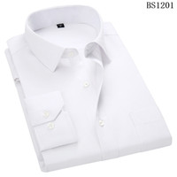 Wholesale short sleeved formal shirts for sale – dress Plus Large Size XL XL XL XL XL Mens Business Casual Long Sleeved Shirt Classic Striped Male Social Dress Shirts Purple Blue