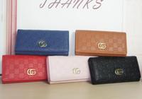 nouvelle carte achat en gros de-2019 nouveaux sacs de haute qualité portefeuille femme en cuir PU portefeuilles pour femmes porte-cartes titulaire de la mode sacs à main d'embrayage 19 * 9 * 3
