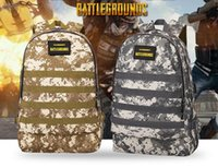 Wholesale free games online online - hot Online game Jedi survival Level Backpack Student Computer Bag Waterproof Camouflage Mountaineering Bag