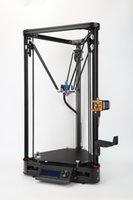 impresoras de cristal de metal al por mayor-YIDIMU Impresora 3D o lineal en más de la mitad del ensamblaje de la polea con nivelación automática de gran tamaño impresión 3D DIY Kit de impresora 3D